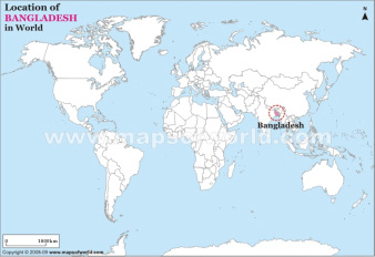 Map bangladesh basketball team location of bangladesh in world map gumiabroncs Gallery